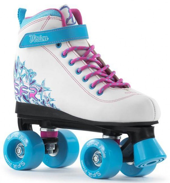 SFR Vision II Quad Skates Weiß/Blau