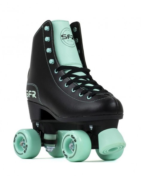 SFR Figure Quad Skates Schwarz/Mint