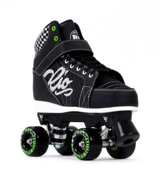 Rio Roller Mayhem II Quad Skates Schwarz