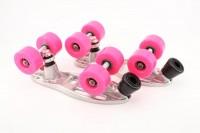 RS-Pro Rollschuhbasis Alu Impulse Pink
