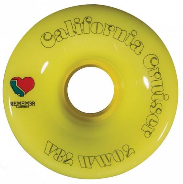 Remember California Crusier Gelb