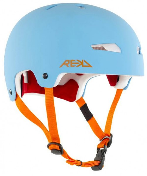 REKD Elite Helm Blau/Orange