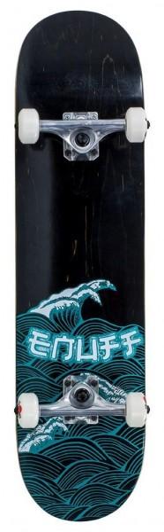 Enuff Big Wave Complete Skateboard Schwarz/Blau