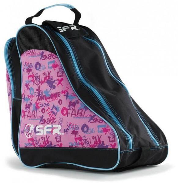 SFR Designer Ice & Skate Tasche Rosa Graffiti