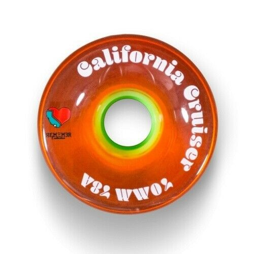 Remember California Cruiser Orange