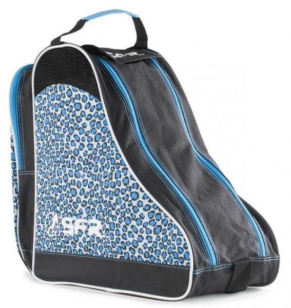 SFR Designer Ice & Skate Tasche Blau Leopard