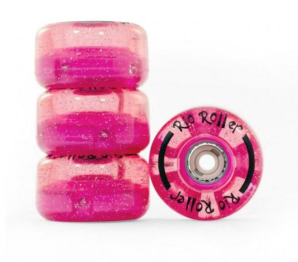 Rio Roller LED Pink Glitter
