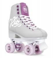 Rio Roller Script Quad Skates Purple Grey