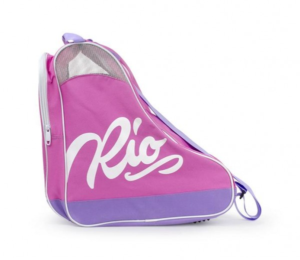 Rio Roller Script Skate Bag Rollschuhe Tasche Pink/Lila