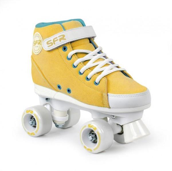 SFR Vision Sneaker Quad Skates Mustard
