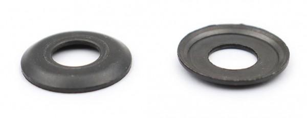 Kingpinscheiben 18mm Schwarz