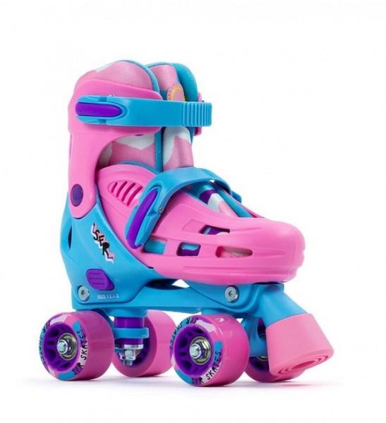 SFR Hurrikane III Größenverstellbare Rollschuhe Pink / Blau