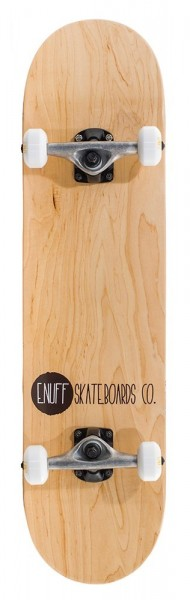 Enuff Logo Stain Complete Skateboard Nature