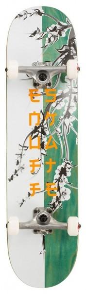 Enuff Cherry Blossom Complete Skateboard Weiß/Teal 2