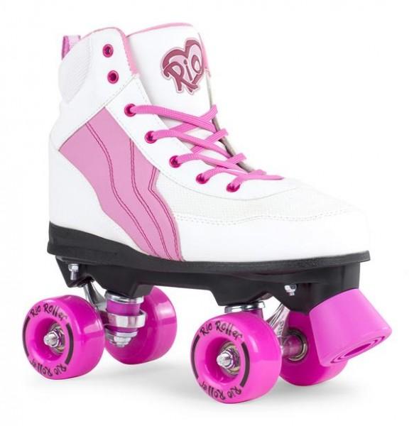 Rio Roller Pure Quad Skates Weiß/Pink