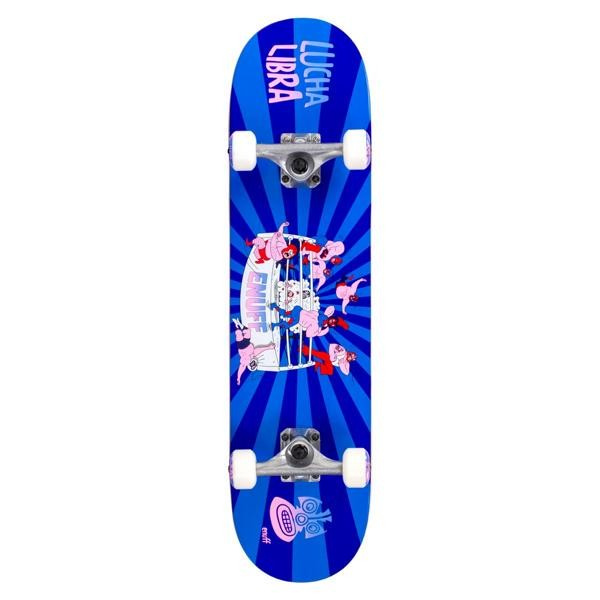 Enuff Lucha Libre Complete Skateboard Blau