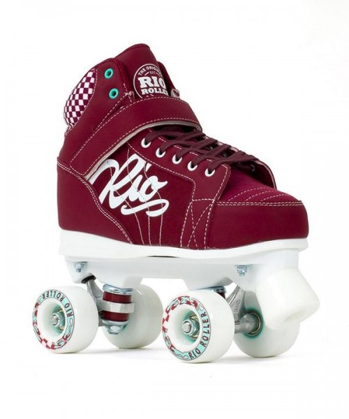 Rio Roller Mayhem II Quad Skates Rot