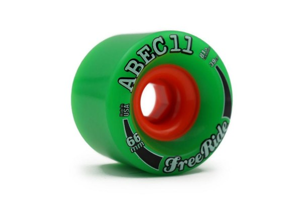 ABEC11 Freerides 66 Grün