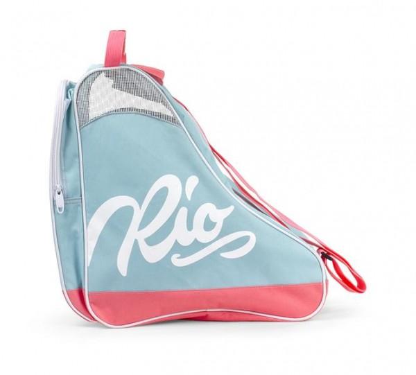 Rio Roller Script Skate Bag Rollschuhe Tasche Teal/Coral