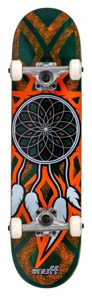 Enuff Dreamcatcher Complete Skateboard Teal/Orange 4