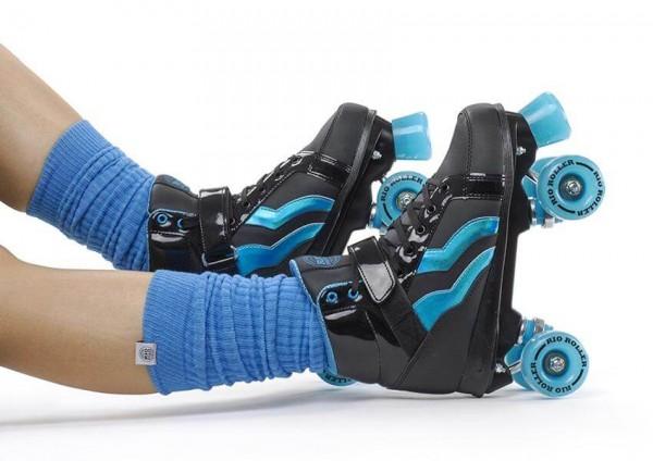 Rio Roller Leg Warmer Blau