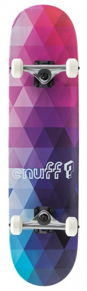 Enuff Geometric Complete Skateboard Purple
