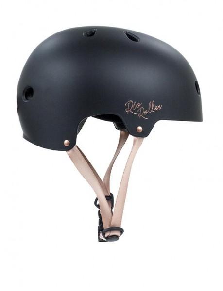 Rio Roller Rose Helm Schwarz