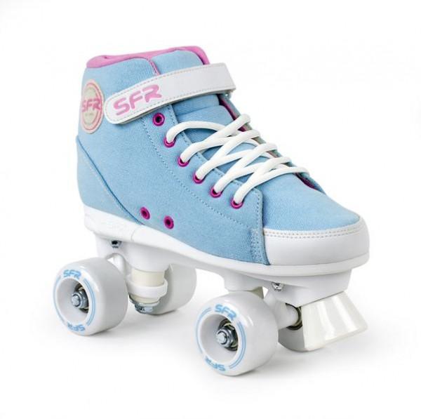 SFR Vision Sneaker Quad Skates Sky Blue