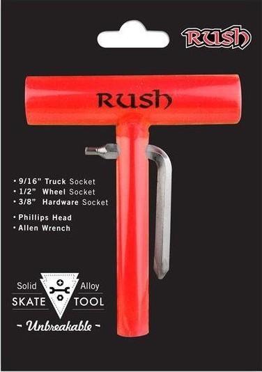 Rush Skater Allzweckschlüssel Rot