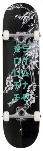 Enuff Cherry Blossom Complete Skateboard Schwarz