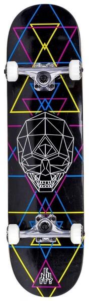 Enuff Geo Skull Complete Skateboard CMYK