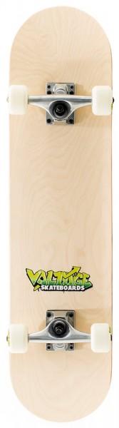 Voltage Graffiti Logo Complete Skateboard Nature