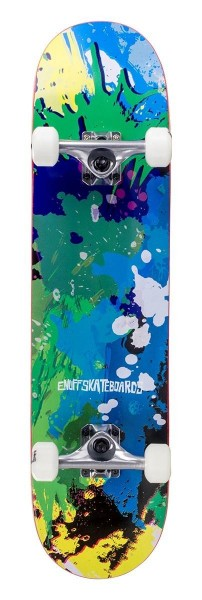 Enuff Splat Complete Skateboard Grün / Blau 1