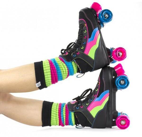 Rio Roller Leg Warmer Disco