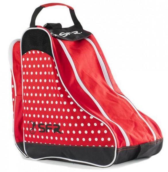 SFR Designer Ice & Skate Tasche Rote Polka