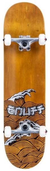 Enuff Big Wave Complete Skateboard Braun/Silber