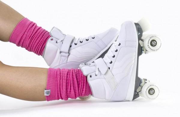 Rio Roller Leg Warmer Pink