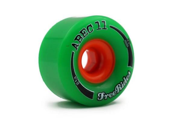 ABEC11 Freerides 72 Grün