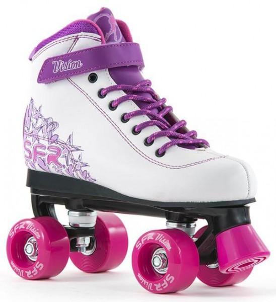 SFR Vision II Quad Skates Weiß/Pink
